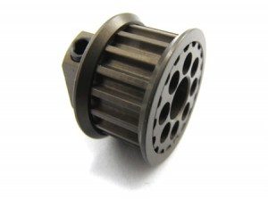 Zeppin Racing Hard Coated Pulley 18T For EV05/M3/MRX4X
