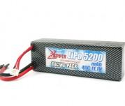 Zeppin Racing 5200mAh 40C 11.1V Carbon LiPo Hard case