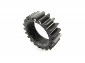 Zeppin Racing EV05/M3 Pinion 2nd 20T Hard Coating