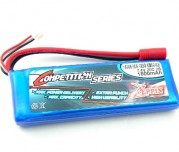 Zeppin Racing 7.4V 20C 2S 1800mah Lipo (Gold Bullet 3.5mm)