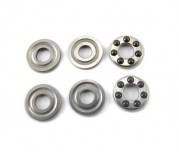 Zeppin Racing 3x8x3.5mm Ceramic Thrust Bearing w/Groove 2 Pcs