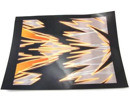 Zeppin Racing Lipo Battery Skin – Orange