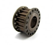 Zeppin Racing 7075 T6 Hardcoated 18T Pulley For Mugen MRX-5