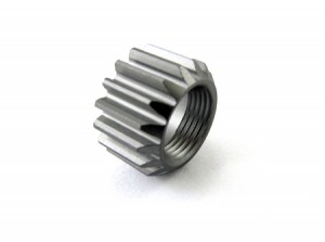 Zeppin Racing 7075 Alu Hard Coated Pinion 1st 17T For NT1