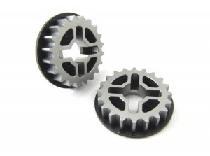 Zeppin Racing Alum 20T Pully 2 pcs For T3