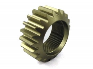 Zeppin Racing Alu 2nd Pinion 21T for MTX-5