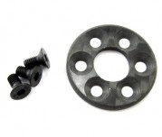 Zeppin Racing TC6.1 Spur Gear Clamping Ring Carbon