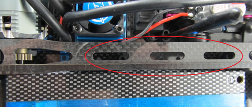 Zeppin Racing 2mm Flex Top Plate for Team Associated TC6.1