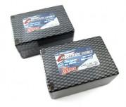 Zeppin Racing 5000MAH 70C 7.4v Saddle Pack T Plug Carbon Case