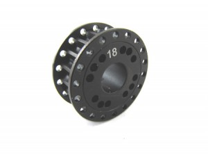 Zeppin Racing Belt Pulley 18T 7075 Hard Coated for MTX-5
