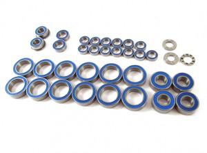 Zeppin Racing Rubber Shield Bearing Set Light Oil for Mugen MTX-5 34pcs
