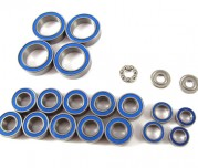 Zeppin Racing Rubber Shield Bearing Set Light Oil for Xray T4 19pcs