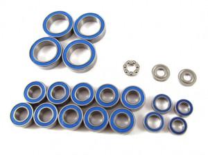 Zeppin Racing Rubber Shield Bearing Set Light Oil for Xray T4 19pcs