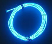 Zeppin Racing Blue EL Flex Wire Light 1.5M