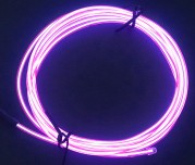 Zeppin Racing Pink EL Flex Wire Light 1.5M