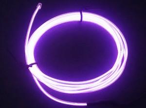 Zeppin Racing Purple EL Flex Wire Light 1.5M