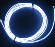 Zeppin Racing White EL Flex Wire Light 1.5M