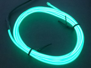 Zeppin Racing Green EL Flex Wire Light 1.5M