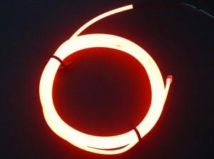 Zeppin Racing Orange EL Flex Wire Light 1.5M